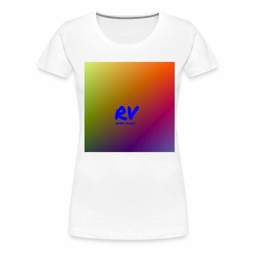 Robsu Vlogs shirt - Women's Premium T-Shirt
