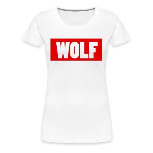 #Wolf - Women's Premium T-Shirt