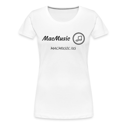 MacMusic - Women's Premium T-Shirt
