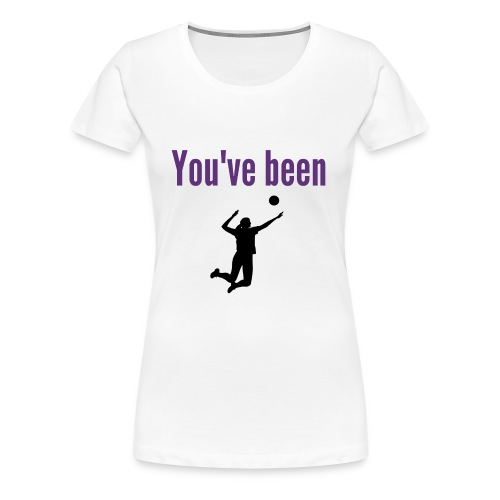 RIX You've been served - Women's Premium T-Shirt
