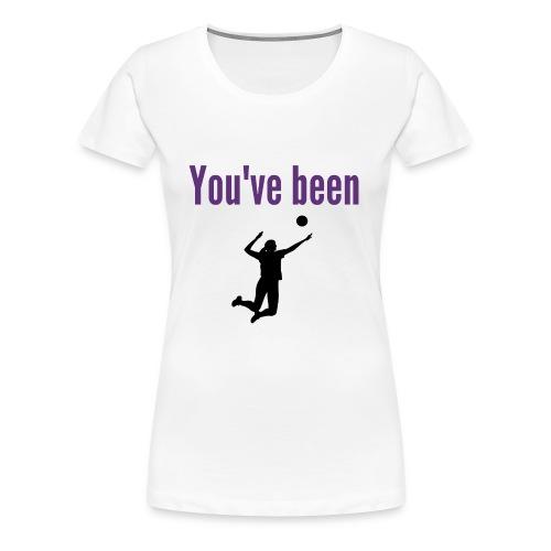 RIX You've been served - Women's Premium T-Shirt