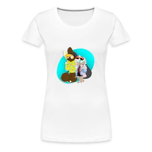 DONUT AND COFFEE - Women's Premium T-Shirt