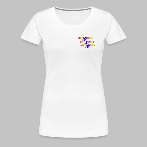 Chrisexual Trisexual - Women's Premium T-Shirt