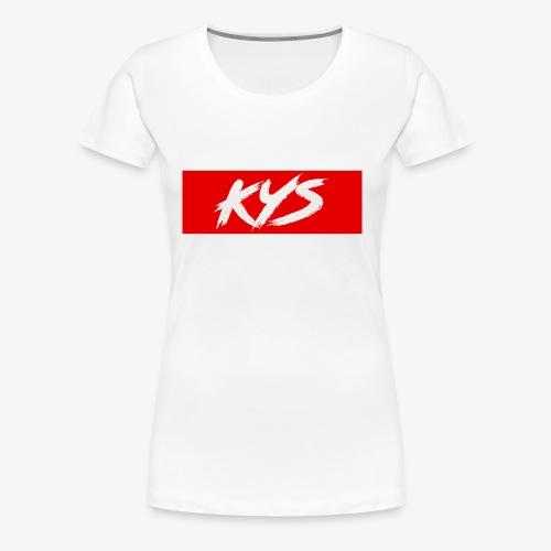 KYS - Women's Premium T-Shirt