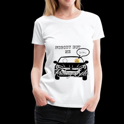 Riding Solo - Women's Premium T-Shirt