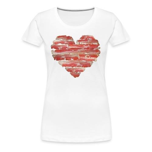 BACON = LOVE - Women's Premium T-Shirt