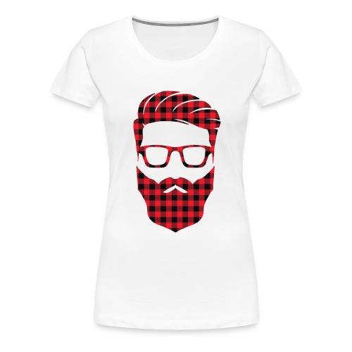 HIPSTER TILES - Women's Premium T-Shirt