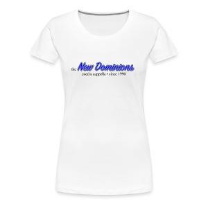 New Dominions Cursive Font - Women's Premium T-Shirt
