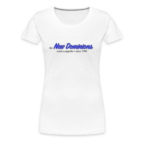 New Dominions Cursive Font - Women's Premium T-Shirt