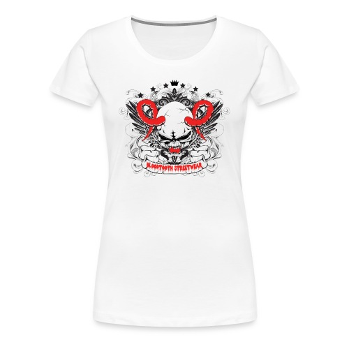 Bloodtooth Devil Skull - Women's Premium T-Shirt