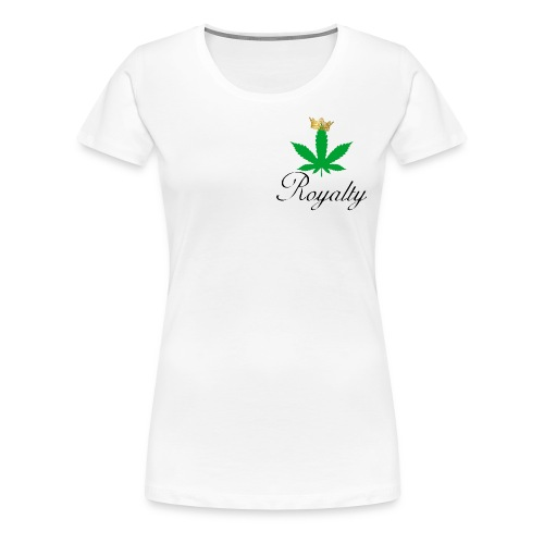princessroyaltyleafcrown - Women's Premium T-Shirt