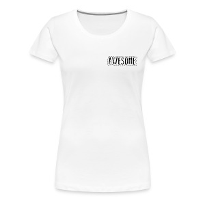 Awesome BLACK - Women's Premium T-Shirt