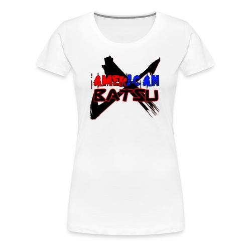 American Batsu Logo - Women's Premium T-Shirt