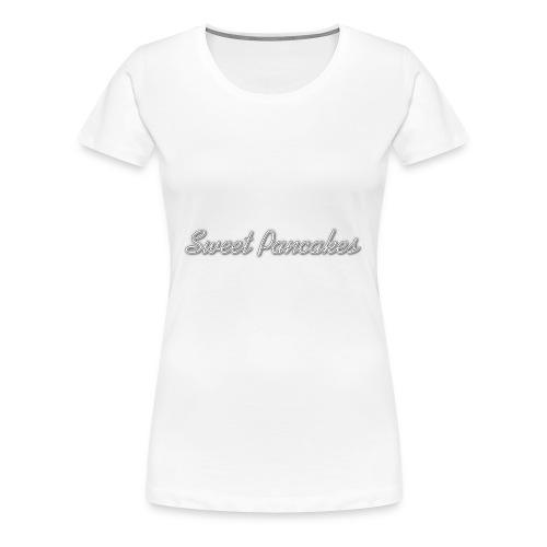 Sweet Pancakes - Women's Premium T-Shirt