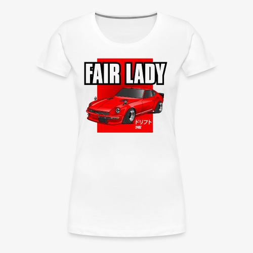 240z fair lady - Women's Premium T-Shirt