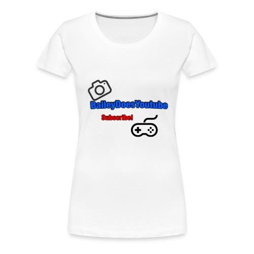 BaileyDoesYoutube - Women's Premium T-Shirt