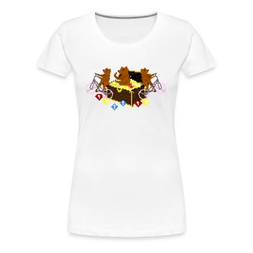 Bear Chest Seal - Women's Premium T-Shirt