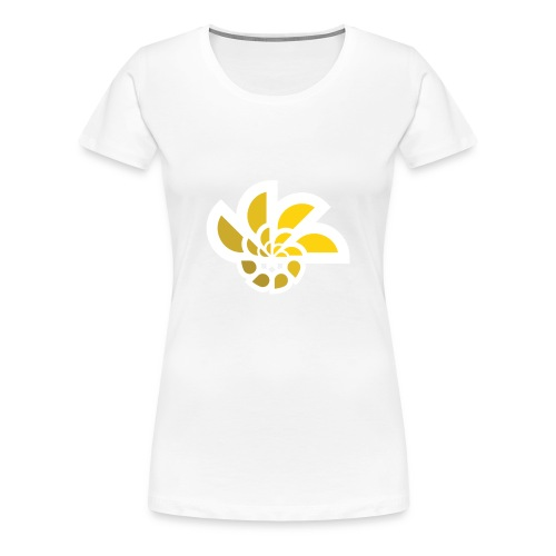 abstract rising sun - Women's Premium T-Shirt