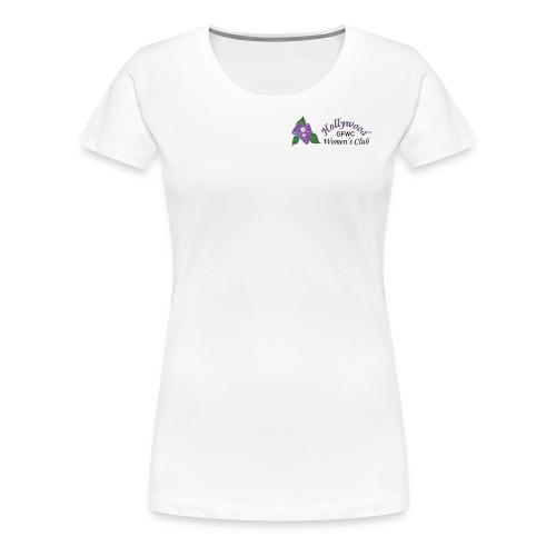 HWC Logo Full - Women's Premium T-Shirt