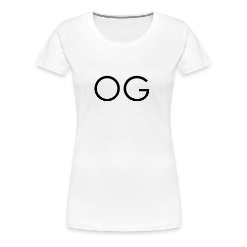 OG design white - Women's Premium T-Shirt