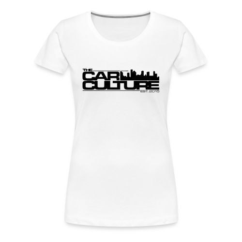The Car Culture (black logo) - Women's Premium T-Shirt