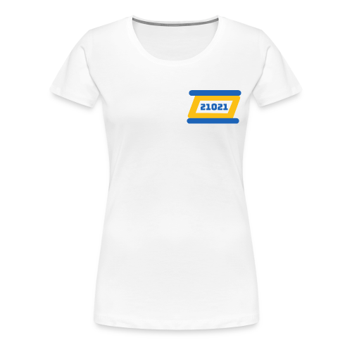 21021 Golden State - Women's Premium T-Shirt