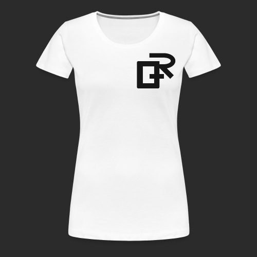 Black RIGANG Logo - Women's Premium T-Shirt
