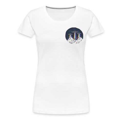 Rainbow Aliens - Women's Premium T-Shirt