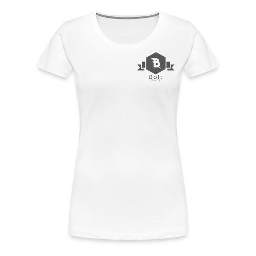Bolt Rising Small Badge - Women's Premium T-Shirt