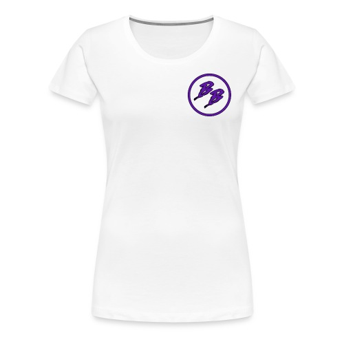 Simple Small Logo Design - Women's Premium T-Shirt