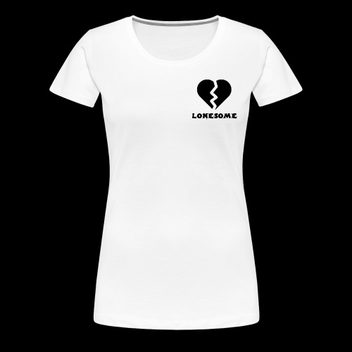 LONESOME HEART - Women's Premium T-Shirt