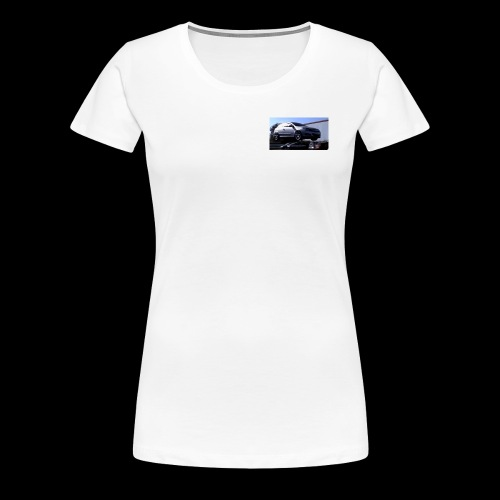 Ballons in a Car - Women's Premium T-Shirt