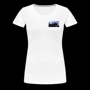 Ballons in a Car - Women's Premium T-Shirt