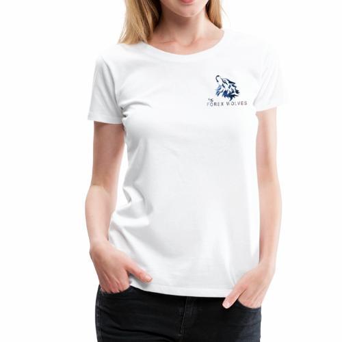The Forex Wolves - Women's Premium T-Shirt