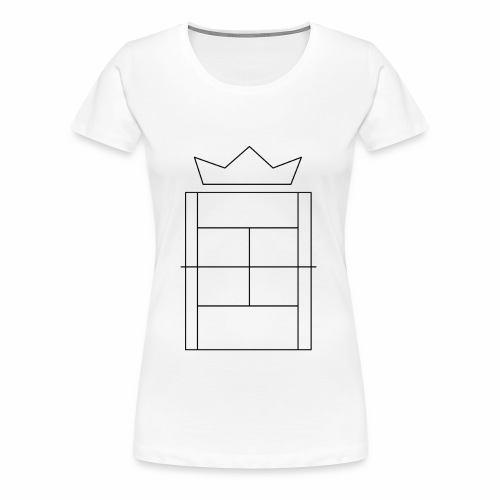 Queen/King of the Court - Women's Premium T-Shirt