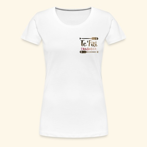 Te'Fiti Trading Co Logo 2 - Women's Premium T-Shirt