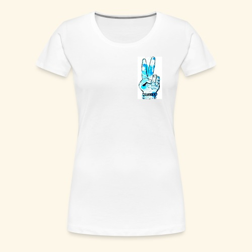 peace blues - Women's Premium T-Shirt