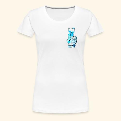 peace blues - Women's Premium T-Shirt