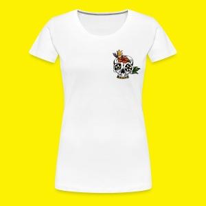 Candy Skull - Women's Premium T-Shirt