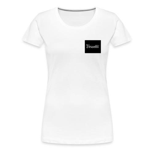 White Vercetti Summer shirt. - Women's Premium T-Shirt