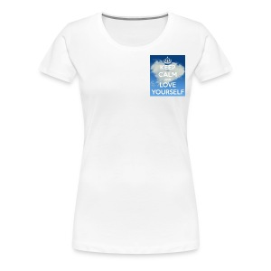 Keep calm and love yourself - Women's Premium T-Shirt