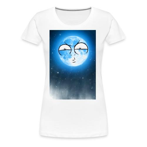 BLUE MOON UP - Women's Premium T-Shirt