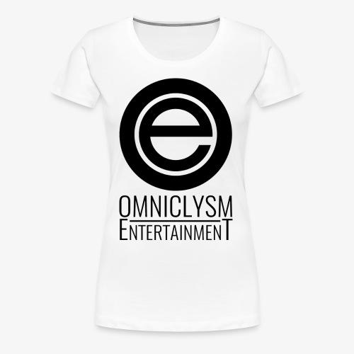 Omniclysm Entertainment Logo - Women's Premium T-Shirt