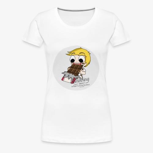 chocolate - Women's Premium T-Shirt