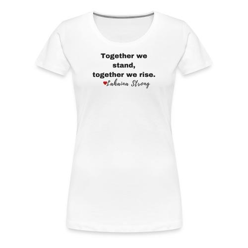 MAUI LOVE - Women's Premium T-Shirt