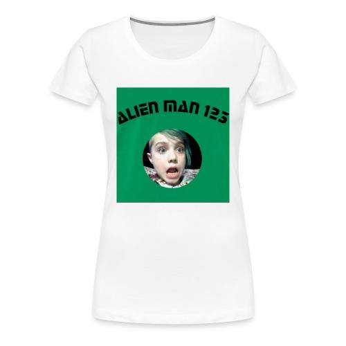 Alien man 123 - Women's Premium T-Shirt