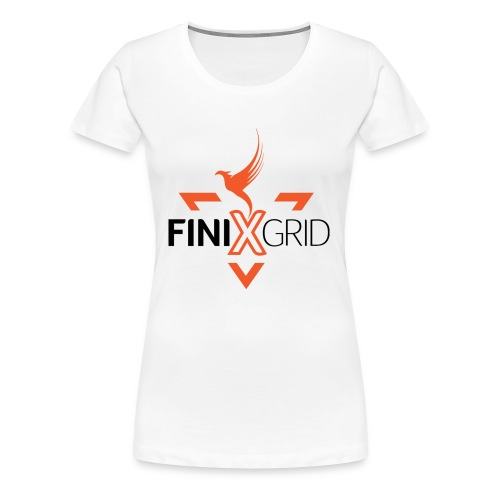 Finix Orange - Women's Premium T-Shirt