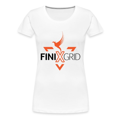 Finix Orange - Women's Premium T-Shirt