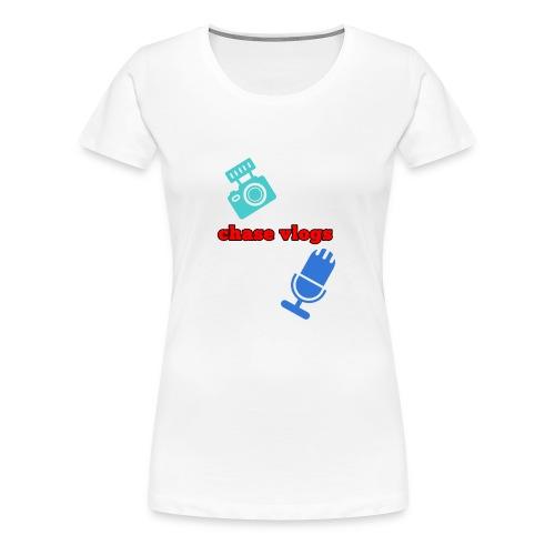 Chase vlogs merch (YT) - Women's Premium T-Shirt