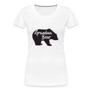 Grandma Bear - Women's Premium T-Shirt